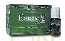 AR Fitofarma Ricerca Naturale Entero 4 Flor Vitamine Fermenti 8 Flaconcini 10 ml