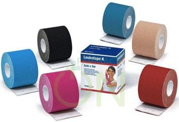 BSN Medical Linea Medicazioni Leukotape K Nastro Adesivo 5cm x 5m Azzurro
