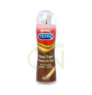 Durex Linea Lubrificanti Real Feel Gel Lubrificante Benessere Coppia 50 ml
