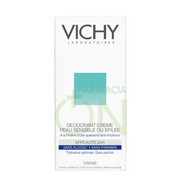 Vichy Linea Deo Deodorante Crema per Pelli Molto Sensibili o Depilate 40 ml