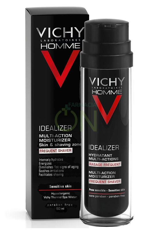 Vichy Linea Homme Idealizer Trattamento Idratante Rasatura Frequente 50 ml