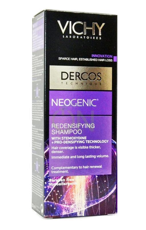 Dercos Linea Neogenic Trattamento Anticaduta Shampoo Ridensificante 400 ml
