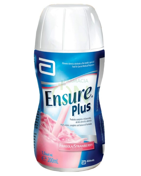 Abbott Linea Nutrizione Domiciliare Ensure Plus Integrazione 4x200 ml Fragola