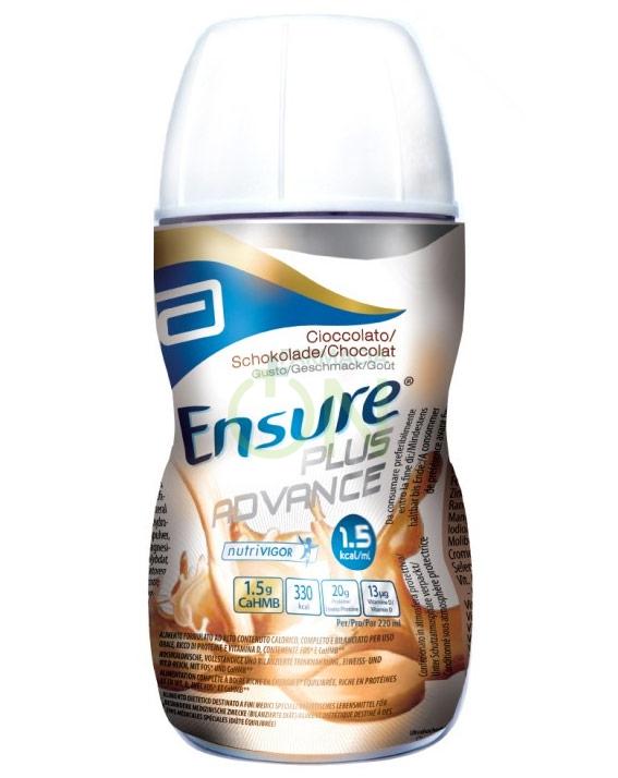 Abbott Linea Nutrizione Domiciliare Ensure Plus Advance 4x220ml Gusto Cioccolato