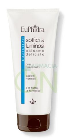 EuPhidra Linea Capelli BodyClean Soffici e Luminosi Balsamo Idratante 200 ml
