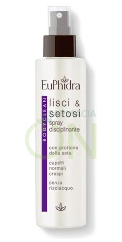 EuPhidra Linea Capelli BodyClean Lisci e Setosi Spray Disciplnante Crespo 200 ml