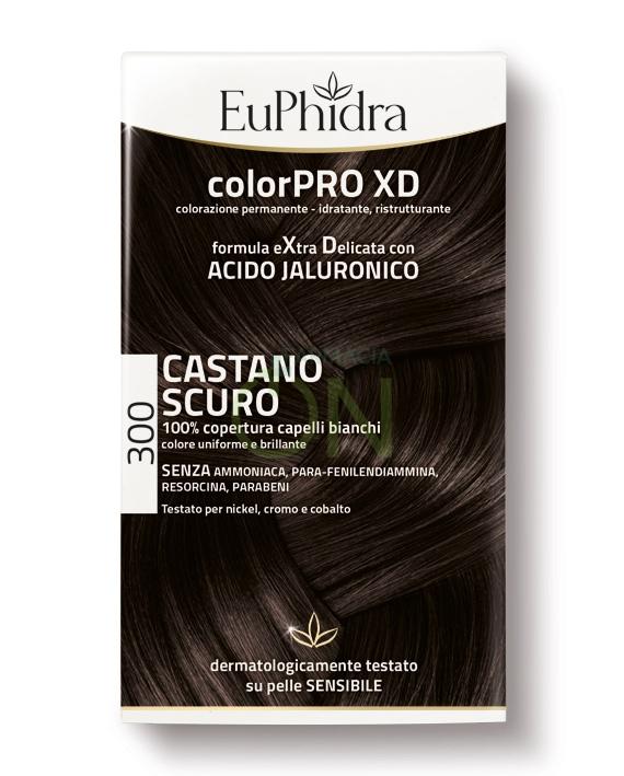 EuPhidra Linea ColorPRO XD Colorazione Extra-Delixata 300 Castano Scuro