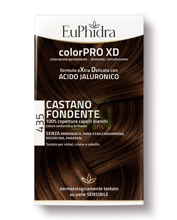 EuPhidra Linea ColorPRO XD Colorazione Extra-Delixata 435 Castano Fondente