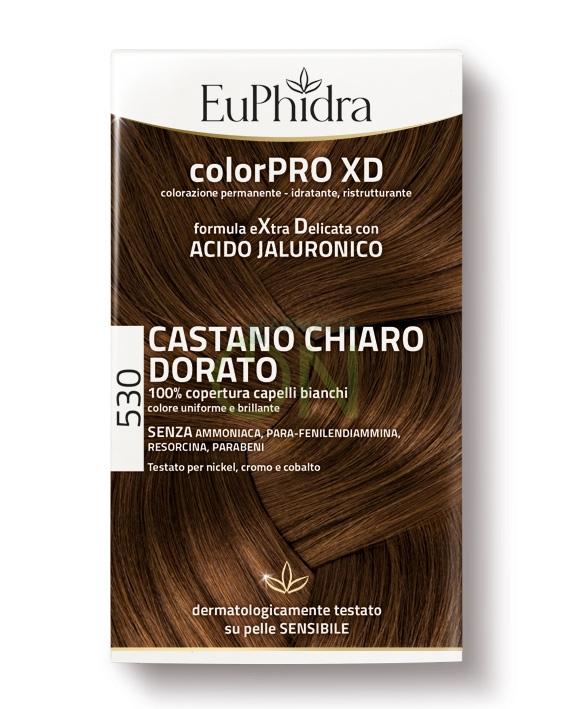EuPhidra Linea ColorPRO XD Colorazione Extra-Delixata 530 Castano Chiaro Dorato