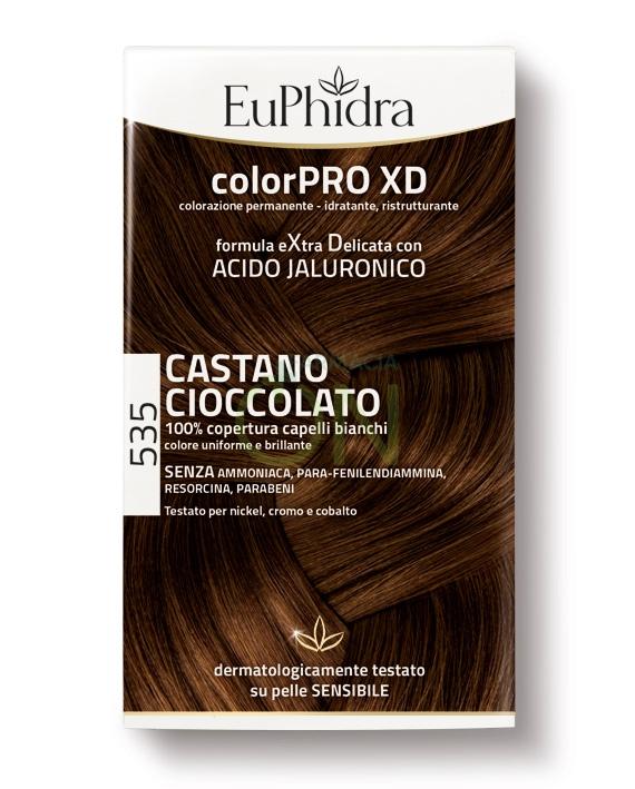 EuPhidra Linea ColorPRO XD Colorazione Extra-Delixata 535 Castano Cioccolato