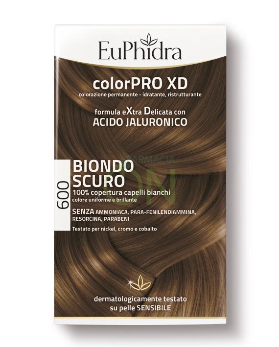 EuPhidra Linea ColorPRO XD Colorazione Extra-Delixata 600 Biondo Scuro