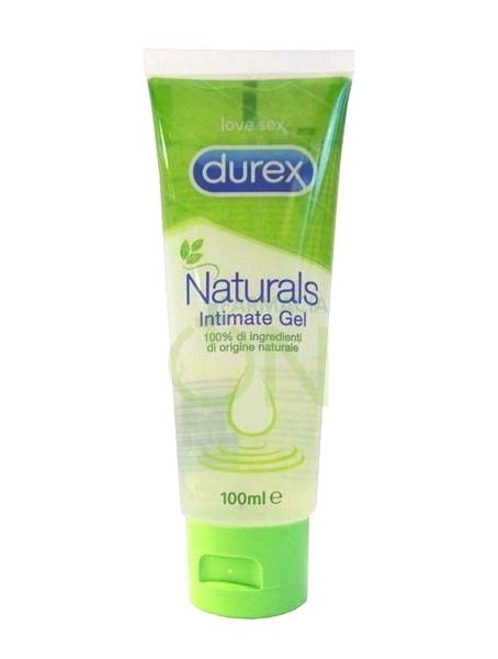 Durex Linea Dispositivi Medici Natural Intimate Gel Intimo Naturale 100 ml