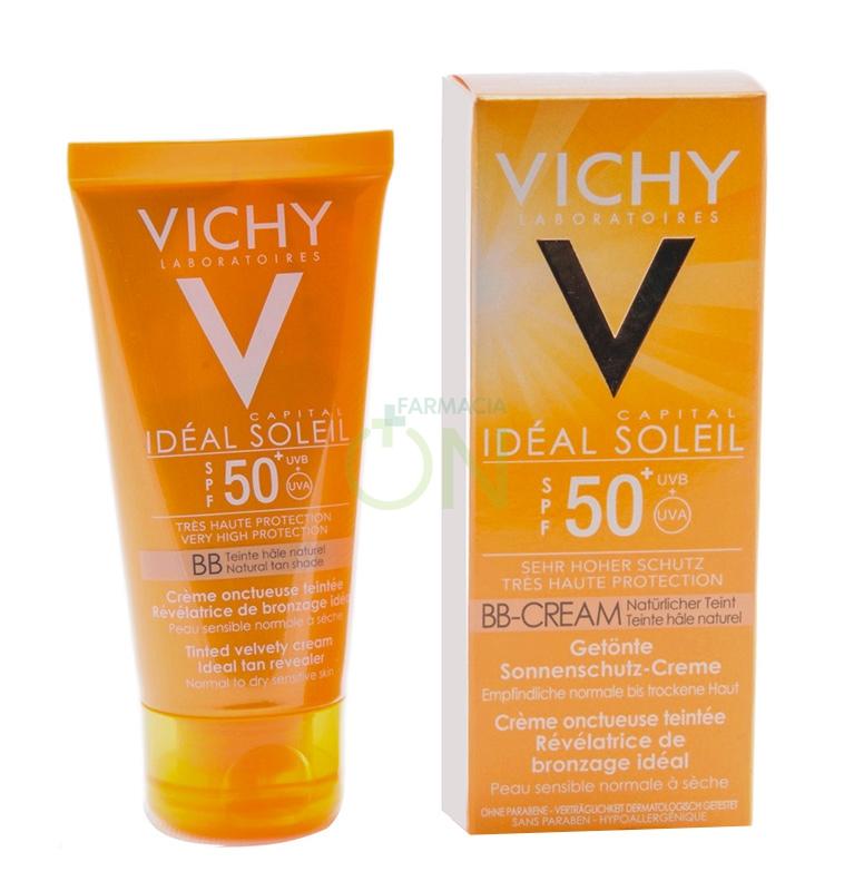 Vichy Linea Ideal Soleil SPF50 BB Cream Crema Vellutata Colorata Pelle Mist 50ml