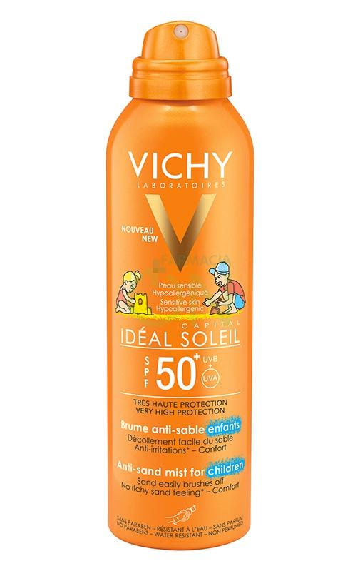 Vichy Linea Ideal Soleil Bambini SPF50+ Spray Anti-Sabbia Ultra-Protettivo 200ml
