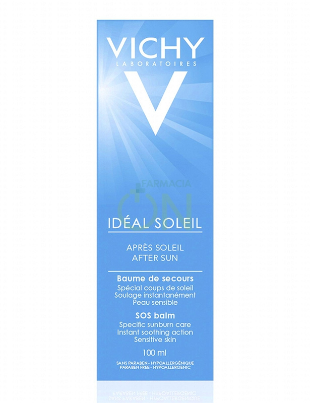 Vichy Linea Ideal Soleil Doposole Speciale SOS Balsamo Riparatore 100 ml