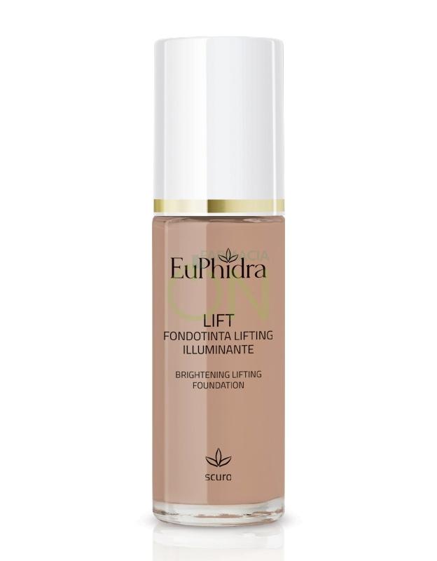 EuPhidra Linea Trucco Viso Base Fondotinta Lifting Illuminante Scuro 30 ml