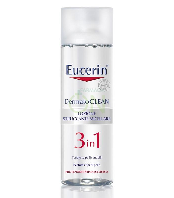 Eucerin Linea DermatoCLEAN Lozione Struccante Micellare 3 in 1 200 ml