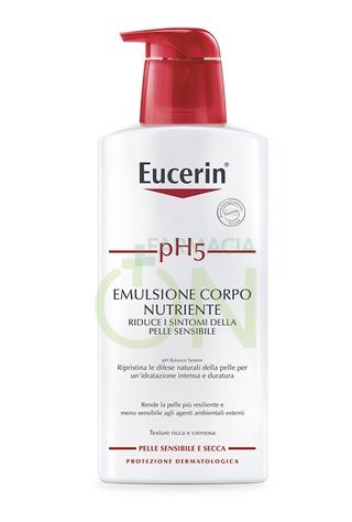 Eucerin Linea pH5 Emulsione Corpo Nutriente Protettiva Pelli Sensibili 400 ml