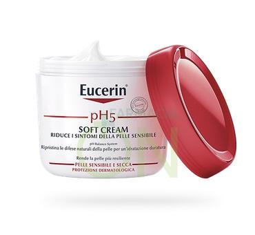 Eucerin Linea pH5 Soft Cream Crema Corpo Idratante Pelli Sensibili 450 ml