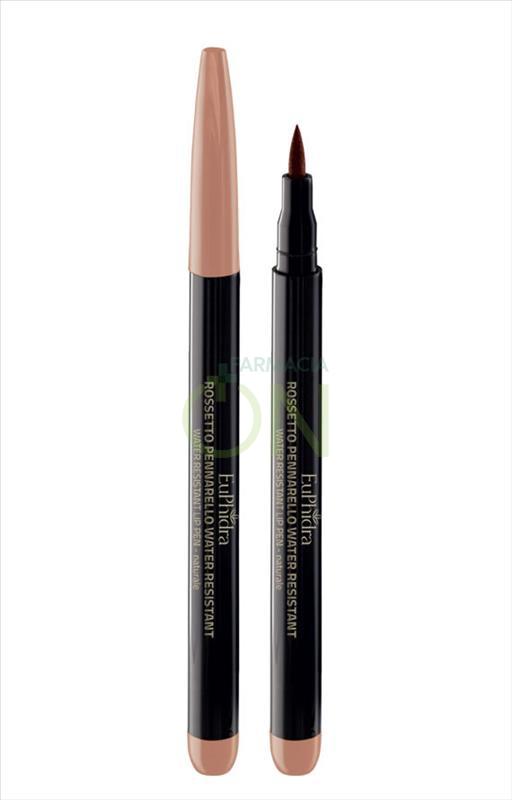 EuPhidra Linea Make up Base Rossetto Pennarello Waterproof Colore Naturale