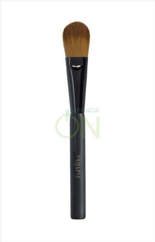 EuPhidra Linea Make-Up Base Pennello per Fondotinta Fluido Effetto Naturale