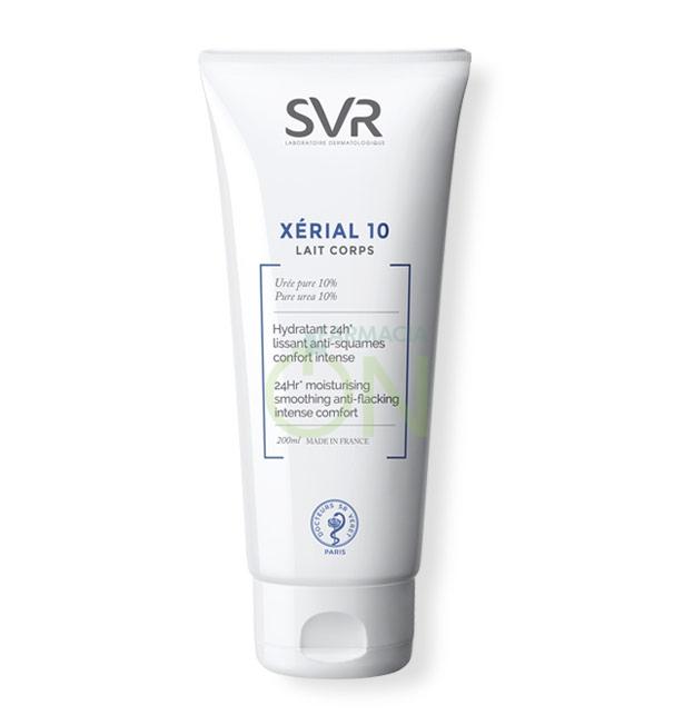 SVR Linea Xérial 10 Lait Corps Trattamento Urea Nutriente Anti-Secchezza 200 ml