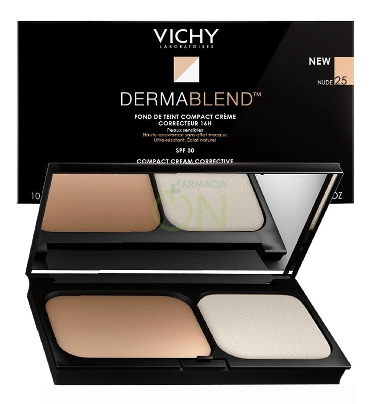 Vichy Make-up Linea Dermablend Fondotinta Correttore Compatto Crema 25