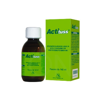 AR Fitofarma Linea Apparato Respiratorio Actituss Integratore Alimentare 140 ml