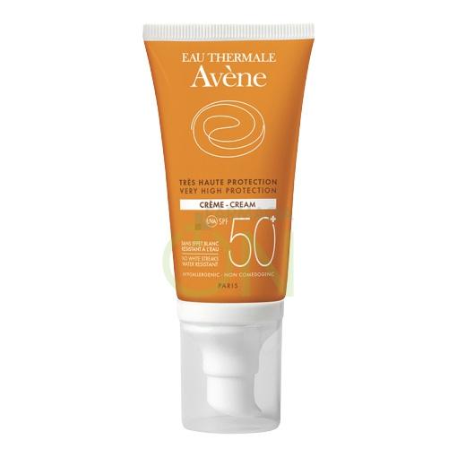 Avene Linea Solare Pelli Sensibili SPF50+ Crema Protettiva Pelli Secche 50 ml